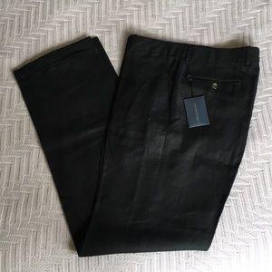 Polo Ralph Lauren Black linen pants